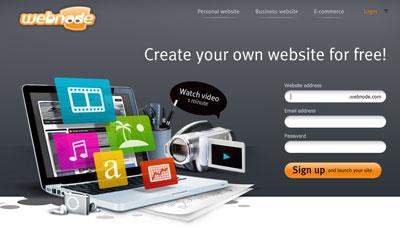 New Webnode portal 2010