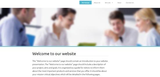 modern webdesign