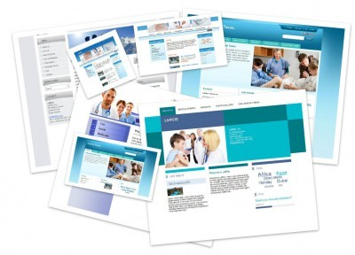 Templates designed for doctors' offices