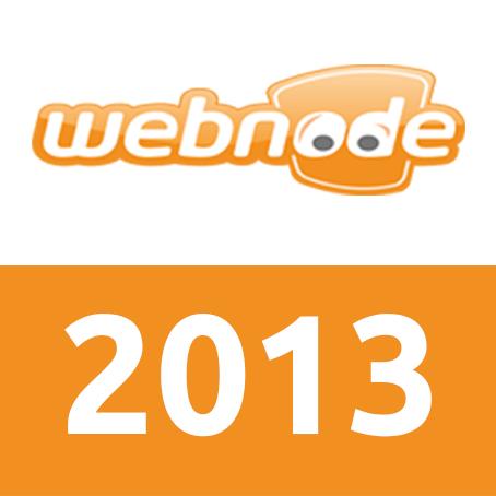 2013 at Webnode