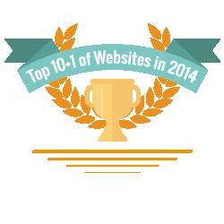 Jahresrückblick: Top 10+1 der Webnode Webseiten 2014